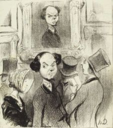 "Daumier ""Salon de 1842"""